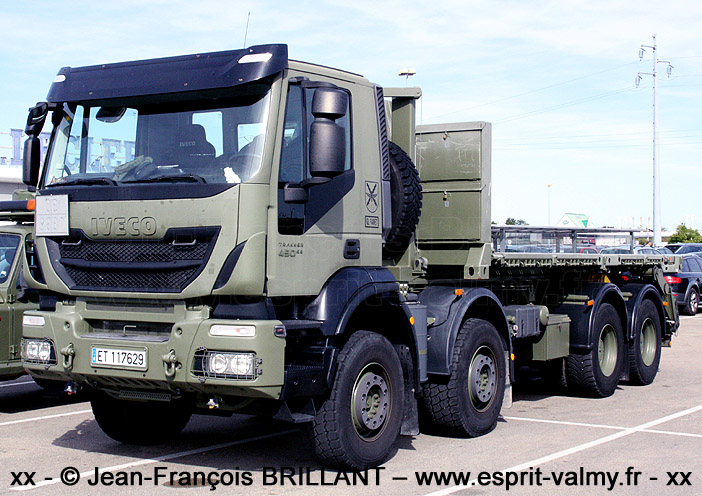 Iveco Trakker 450 E5 8x8, Grupo Logístico de las FAMET ; 2019