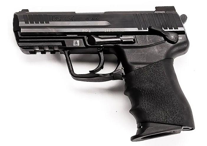 "Mk24 Mod0, Combat Assault Pistol, canon et organes de visée ""standard"""