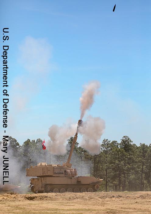 "M109A7 ""Paladin"", 1st ""Axehandles"" Battalion, 113th Field Artillery Regiment (1-113th FA), North Carolina National Guard ; 2021"