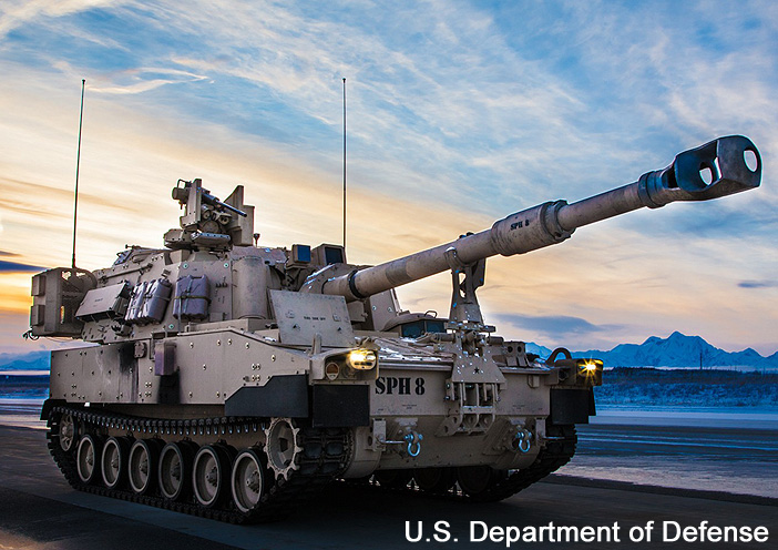 """M109A7 """"Paladin"""", US Army Operational Test Command ; 2020"""