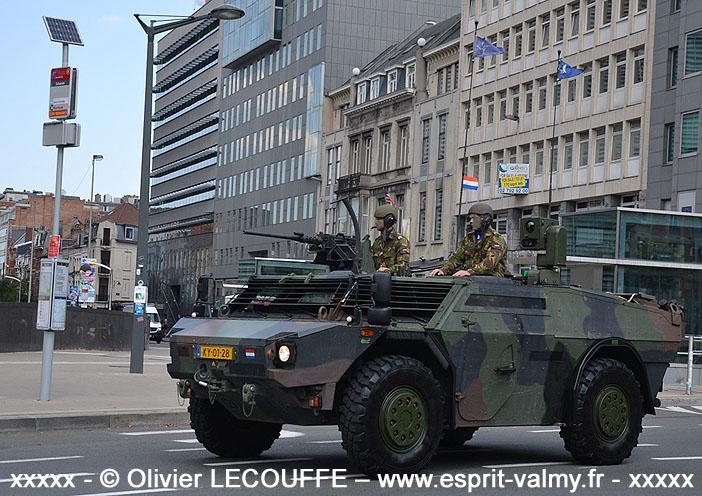 Fennek LVB, KY-0128, Koninklijke Landmacht ; 2018