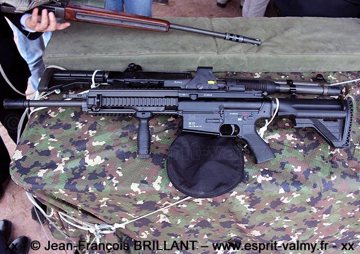 """HK417 """"MASA"""" ; Commando Parachutiste de l'Air n°20"""