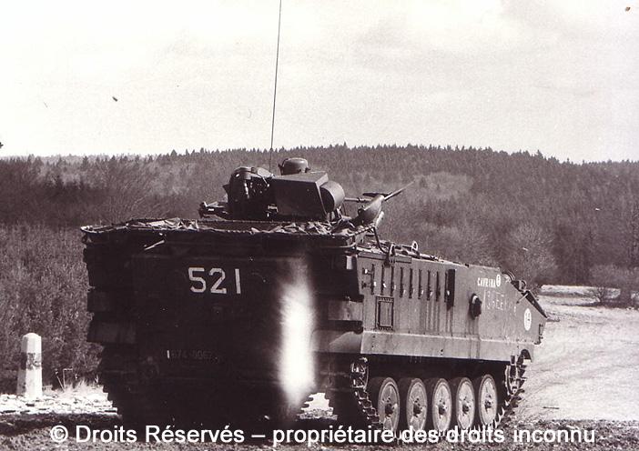 GIAT AMX10 PH, 674-0067, 12e Régiment de Cuirassiers ; 1978