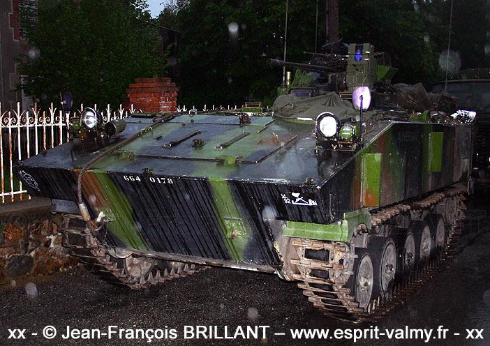 664-0178 : AMX10 PC, 92e Régiment d'Infanterie ; 2006