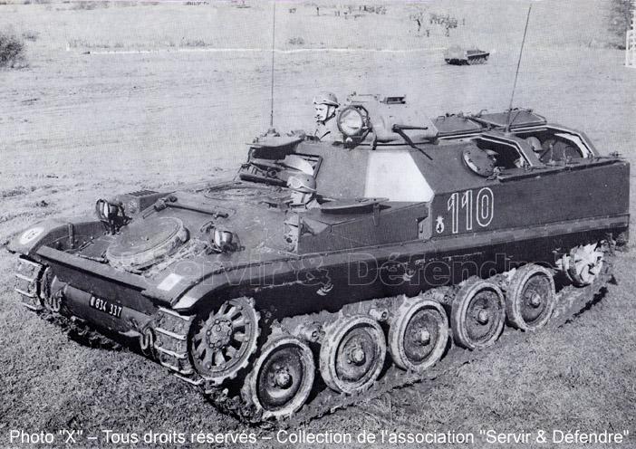 VTT Ch M56, tourelleau CAFL38