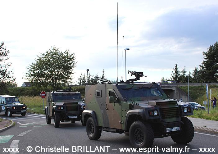 """6071-0248 : PVP Mk1, version """"Commandement"""", gréé """"Guerre Electronique"""", 1er Régiment d'Artillerie de Marine, Batterie de Renseignement de Brigade de la 1ère Brigade Mécanisée ; 2012"""