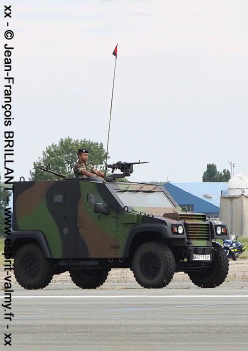 """6071-0301 : PVP Mk1, version """"Commandement"""", 68e Régiment d'Artillerie d'Afrique ; 2011"""