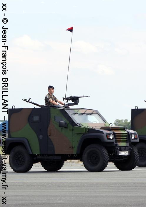 """6071-0297 : PVP Mk1, version """"Commandement"""", 68e Régiment d'Artillerie d'Afrique ; 2011"""
