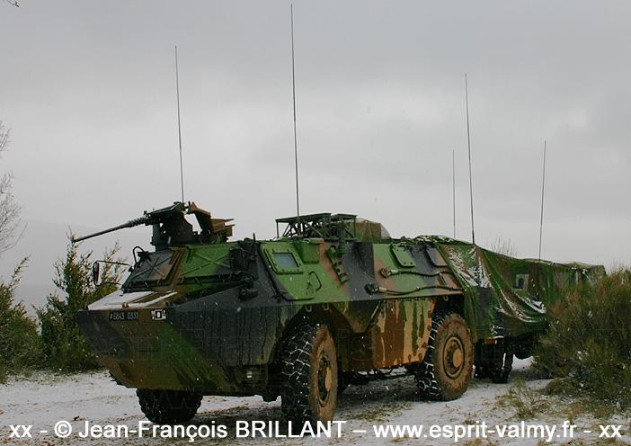 6843-0331 : VAB ATLAS DL (Détachement de Liaison), 8e Régiment d'Artillerie ; 2005