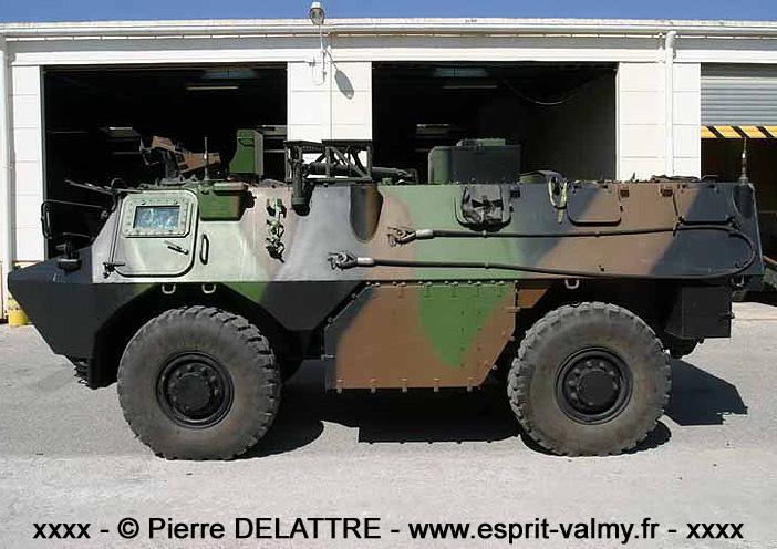 VAB ATLAS DL (Détachement de Liaison), 6853-0126, 3e Régiment d'Artillerie de Marine ; 2005