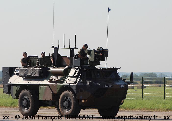 """VAB """"Ultima"""", 6833-0077 ; 3e Régiment d'Infanterie de Marine"""