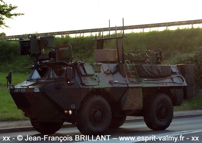 """VAB """"Ultima"""", 6873-0255 ; 3e Régiment d'Infanterie de Marine"""