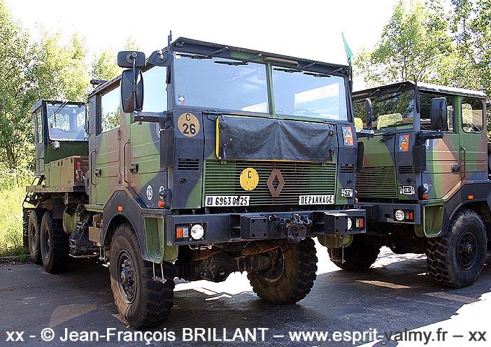Renault TRM 10.000 CLD (Camion Lourd de Dépannage), 6963-0025, 68e Régiment d'Artillerie d'Afrique ; 2008