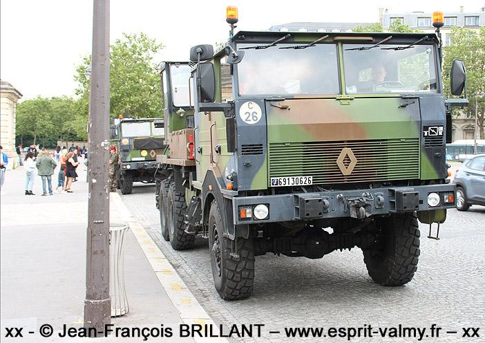 6913-0626 : Renault TRM 10.000 CLD (Camion Lourd de Dépannage), 28e Régiment des Transmissions ; 2021