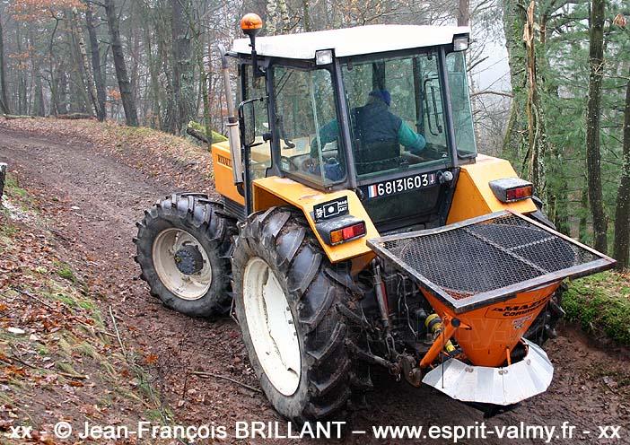 """6813-1603 : Renault 1181.4S, Section """"Pionniers"""" du 57e Régiment d'Artillerie ; 2006"""