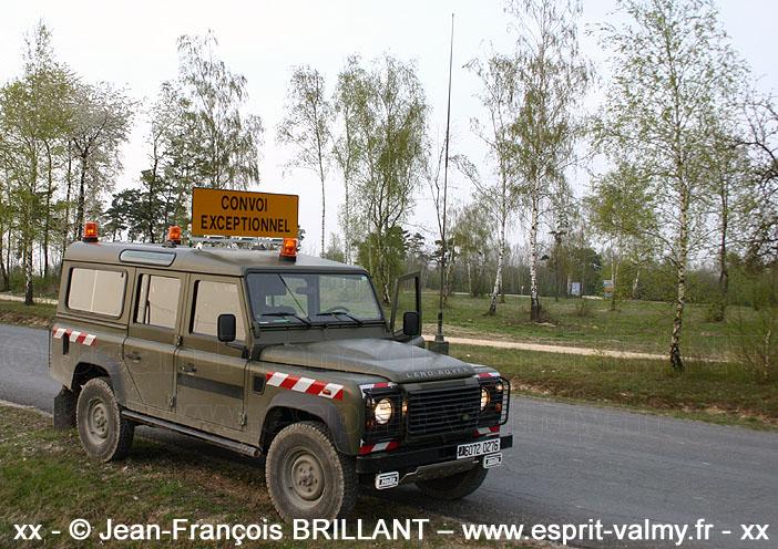 """6072-0276 : Defender 110 """"ConvEx"""", 516e Régiment du Train ; 2008"""