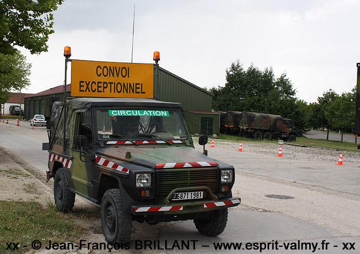 """P4 """"ConvEx"""", 6871-1981, Groupement de Circulation Routière """"14 juillet"""" ; 2009"""