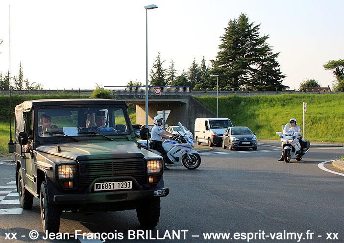 """Peugeot P4, 6851-1293, 516e Régiment du Train, Groupement de Circulation Routière """"14 juillet"""" ; 2013"""