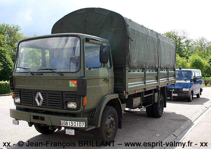 6813-0107 : Renault JP11, cargo, Escadron de Gendarmerie Mobile 4x/7 ; 2005