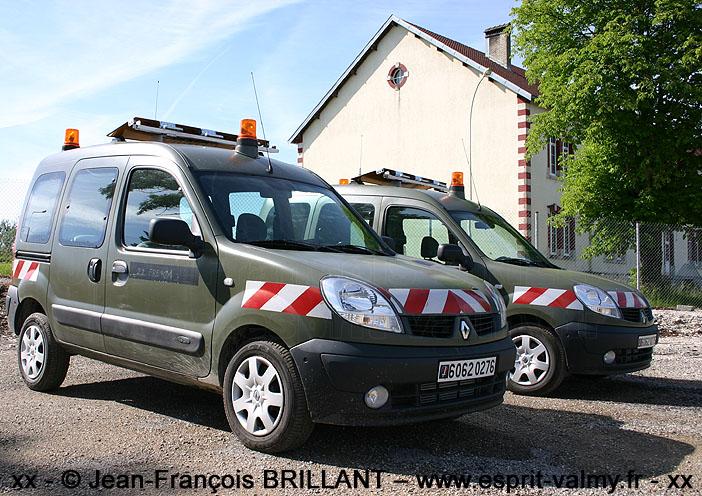 """6062-0276 : Renault Kangoo 1.5dCi """"Convex"""", 1er Régiment du Génie ; 2007"""