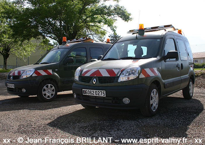 """6062-0275 : Renault Kangoo 1.5dCi """"Convex"""", 1er Régiment du Génie ; 2007"""