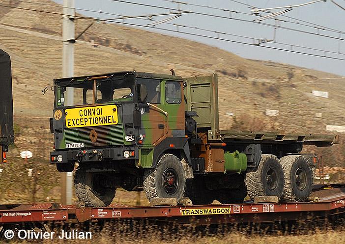 6953-0335 : Renault TRM 10.000 APD (A Plateau Déposable), 501e Régiment de Chars de Combat ; 2012