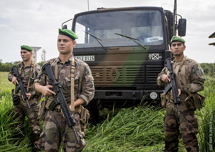 Renault TRM 2000, 6912-0126, 3e Régiment Etranger d'Infanterie ; 2020