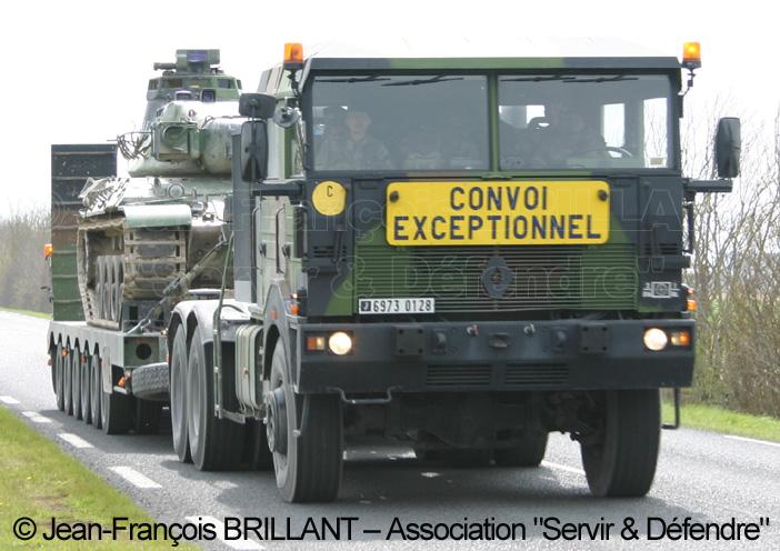 Renault TRM 700-100 bi-treuil, 6973-0128, 516e Régiment du Train ; 2008