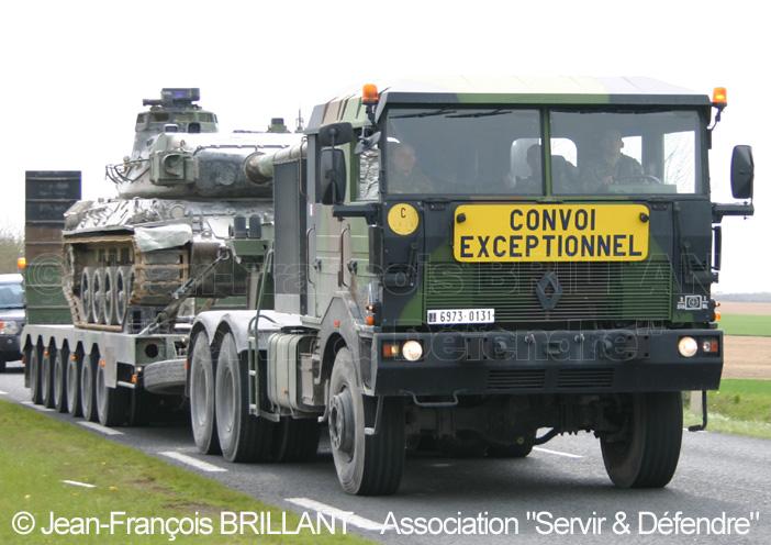 Renault TRM 700-100 bi-treuil, 6973-0131, 516e Régiment du Train ; 2008