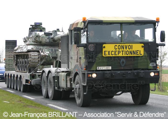 Renault TRM 700-100 bi-treuil, 6973-0055, 516e Régiment du Train ; 2008