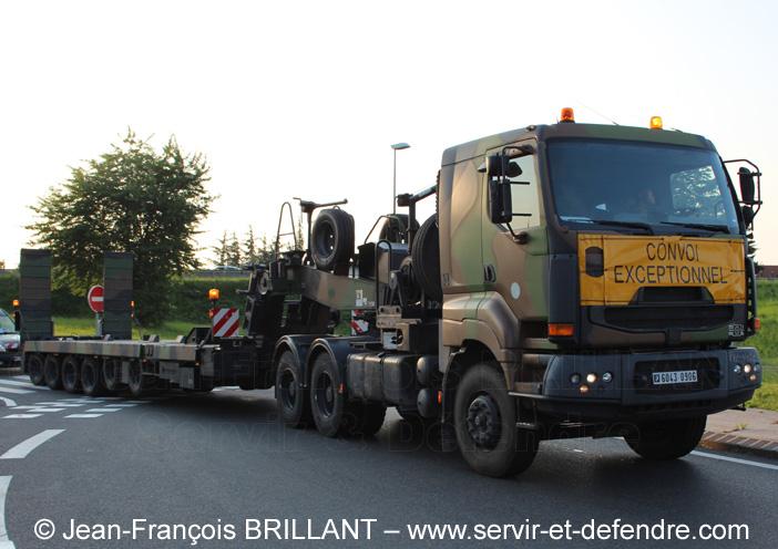 Sisu E-Tech 480, Tracteur de Remorque Porte-Char de 50 tonnes, 6043-0906, 516e Régiment du Train ; 2013