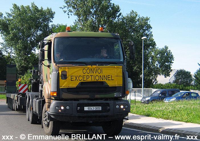 6043-0890 : Sisu E-Tech 480, Tracteur de Remorque Porte-Char de 50 tonnes, 516e Régiment du Train ; 2012