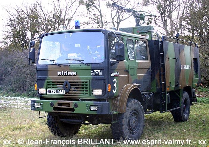 VIP (Véhicule d'Intervention Polyvalent) M180, 6943-0131, Groupement de Camp de Canjuers ; 2005