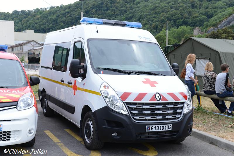 Master 125 dCi ambulance, 6131-0133 ; 19e Régiment du Génie d'Afrique
