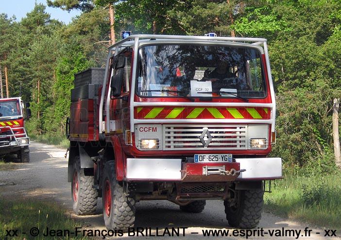 85-150 CCF ; SDIS10, Les Riceys