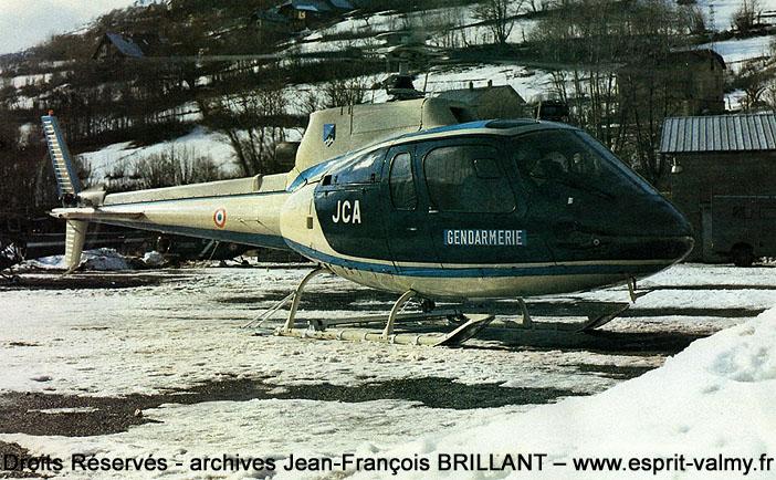 """AS350B """"Ecureuil"""", 1028, F-MJCA ; 1979"""