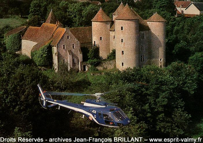 """AS350B """"Ecureuil"""", 1028, F-MJCA ; 1984"""