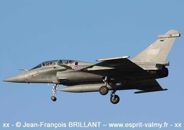 "Rafale B306, 113-IB, EC 01.091 ""Gascogne"" ; Saint-Dizier, 2009"