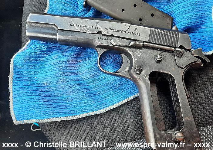 Kronsberg 11,25mm automatisk pistol modell 1914