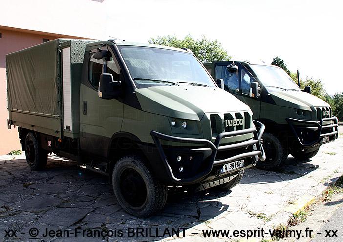 "IVECO Military Utility Vehicle, version ""châssis-cabine"", Camp de Frileuse ; 18.09.2019"