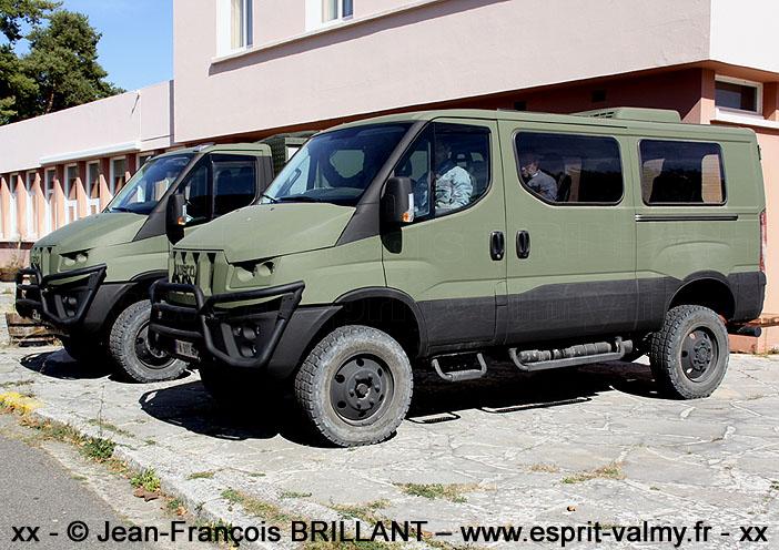 "IVECO Military Utility Vehicle, version ""van"", Camp de Frileuse ; 18.09.2019"