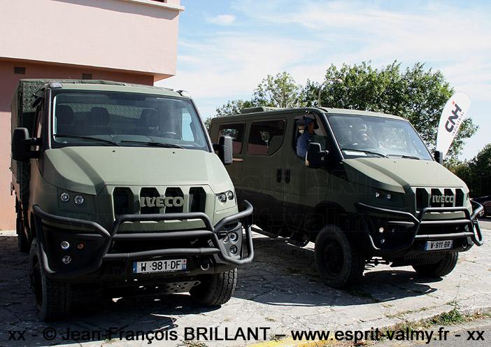 """IVECO Military Utility Vehicle, versions """"châssis-cabine"""" et """"van"""", Camp de Frileuse ; 18.09.2019"""