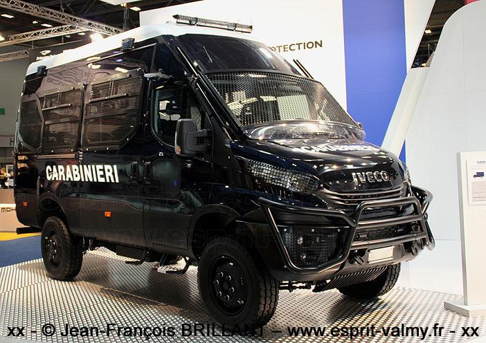 "Iveco MUV ""Van"", 4x4, ""homeland security"""