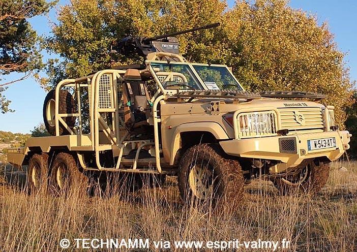 TECHNAMM Masstech FS 6x6, canon de 20