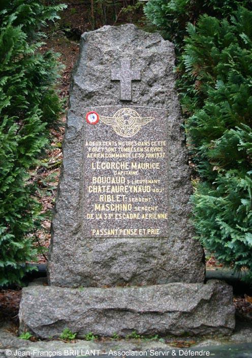 57 - Turquestein ; la Stèle des Aviateurs
