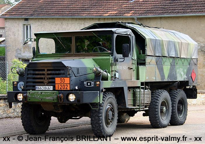 663-0461 ; GBC8KT CCT (Camion Citerne Tactique), 1er Régiment d'Artillerie ; 2005