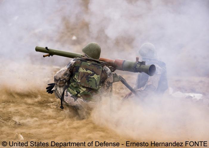 SPG-9 ; Police Nationale Afghane, Garde-Frontières
