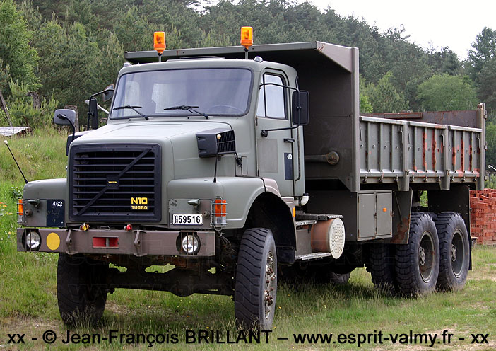 Volvo N10 benne, 59516, Camp Lagland ; 2008
