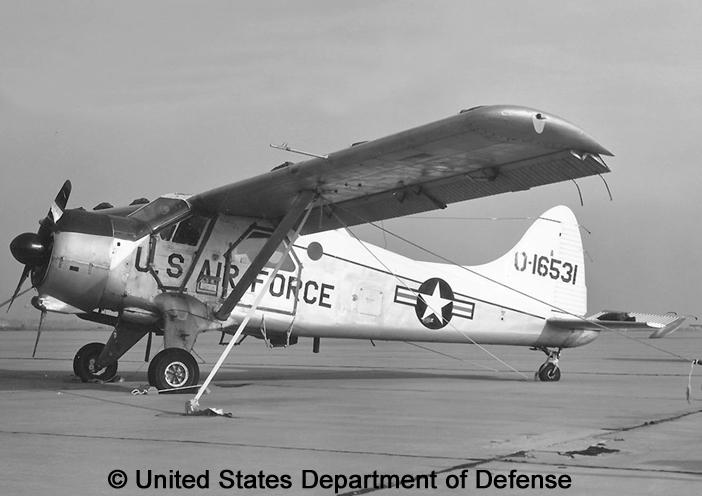 "Utility, standard aircraft, basic mission : U-6A ""Beaver"""