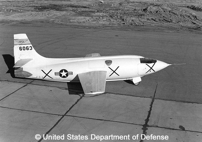 eXperimental, standard aircraft, basic mission : X-1